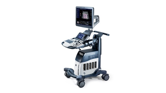GE Logiq S8 veterinary ultrasound scanner